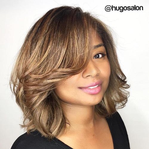 Wondrous Hairstyles For Full Round Faces 50 Best Ideas For Plus Size Women Short Hairstyles For Black Women Fulllsitofus