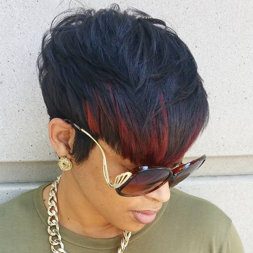 Pleasant 50 Most Captivating African American Short Hairstyles And Haircuts Hairstyles For Women Draintrainus