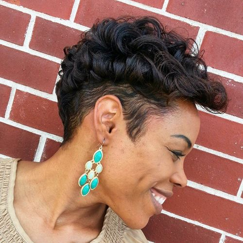 Remarkable 50 Most Captivating African American Short Hairstyles And Haircuts Hairstyles For Men Maxibearus