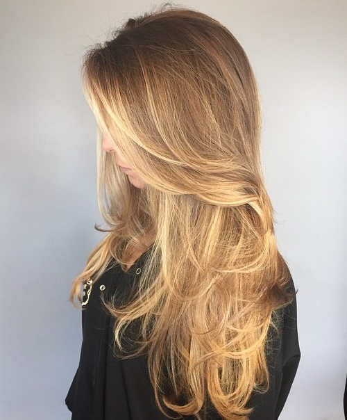 Attractive Layered Haircut For Long Fine Hair