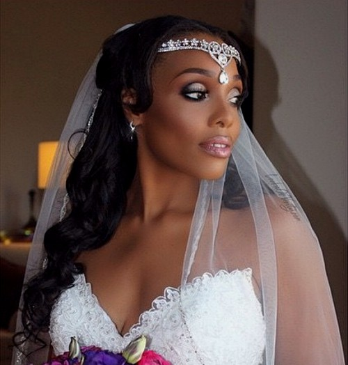 Hairstyles For Brides: 50 Superb Black Wedding Hairstyles