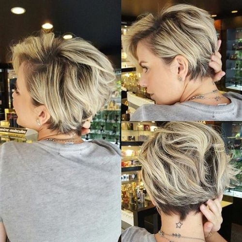 Blonde Pixie Bob With Dark Roots