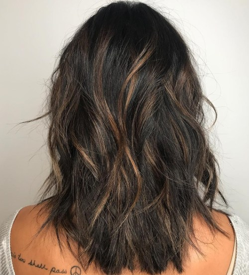 Shag Cut With Babylights