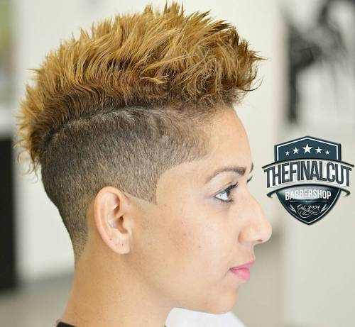 Cool 70 Most Gorgeous Mohawk Hairstyles Of Nowadays Short Hairstyles For Black Women Fulllsitofus