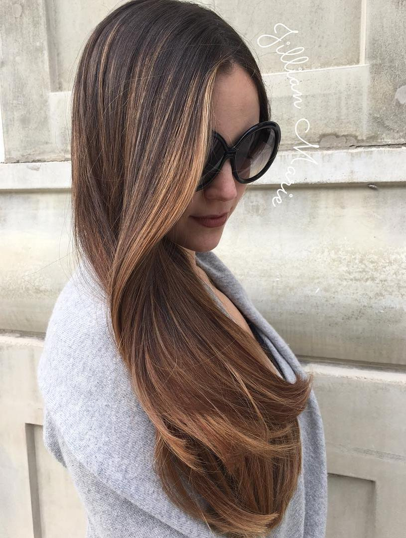 hair ombre styles 60 hairstyles featuring brown hair with highlights 9045
