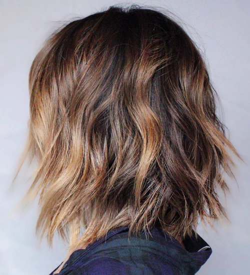 90 Sensational Medium Length Haircuts for Thick Hair in 2017