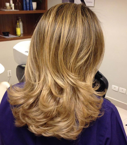 Long layered haircut styles 2013