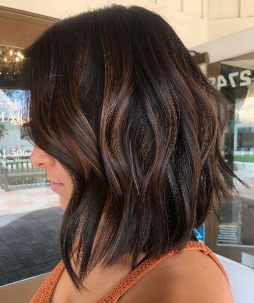 Subtle Brown Balayage Hair