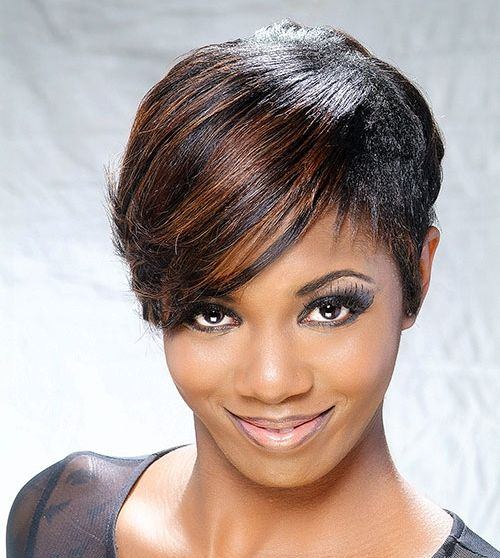 Short Black Hairstyle Pictures 21