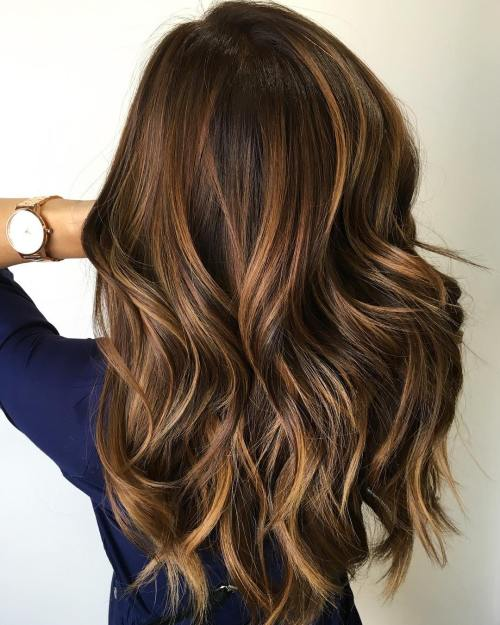 Caramel Highlights For Brown Hair