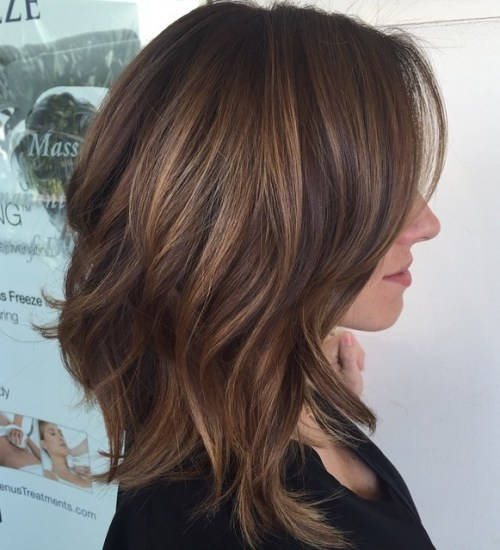 Mid Length Layered Hairstyles For Thick Hair 12
