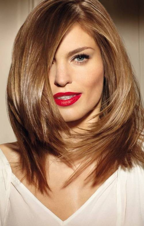 Admirable 90 Sensational Medium Length Haircuts For Thick Hair In 2017 Short Hairstyles Gunalazisus