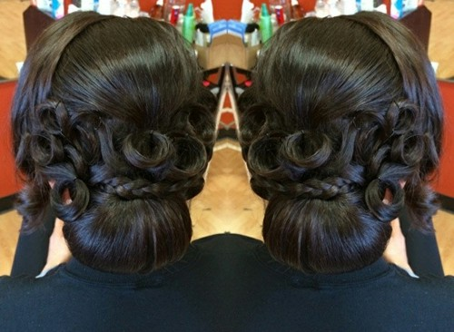 Peachy 50 Superb Black Wedding Hairstyles Hairstyle Inspiration Daily Dogsangcom