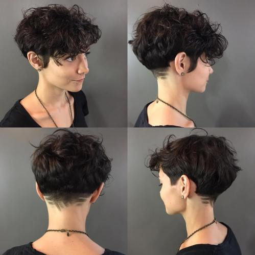 Pixie For Women With Curly Hair