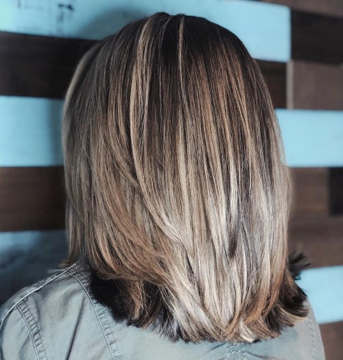 Medium Layered Haircut For Thick Straight Hair