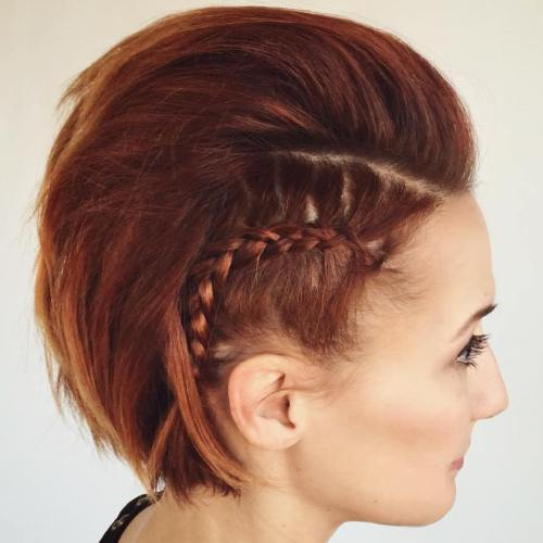 Magnificent 70 Most Gorgeous Mohawk Hairstyles Of Nowadays Short Hairstyles For Black Women Fulllsitofus