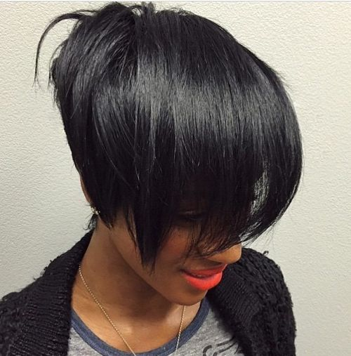 Superb 60 Showiest Bob Haircuts For Black Women Short Hairstyles For Black Women Fulllsitofus