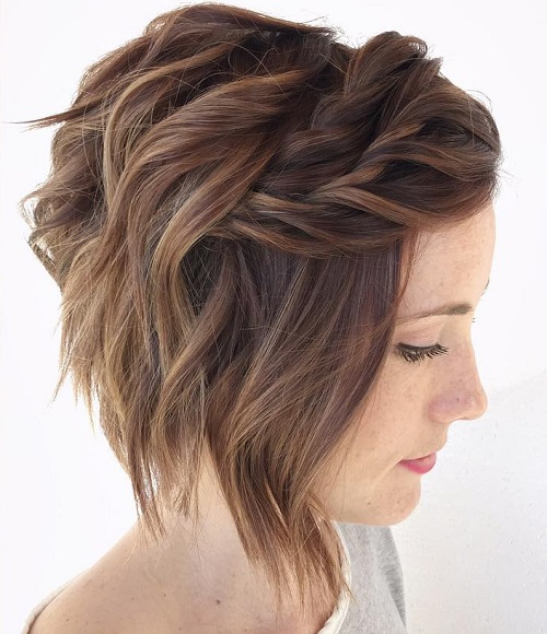 Wavy Bob Hairstyles Without Bangs : 100 mind blowing short hairstyles for fine hair