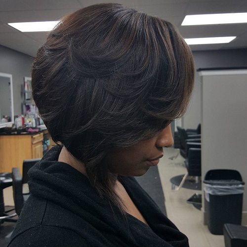 Fantastic 50 Most Captivating African American Short Hairstyles And Haircuts Hairstyles For Women Draintrainus