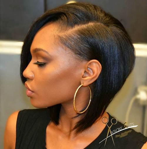 Outstanding 60 Showiest Bob Haircuts For Black Women Short Hairstyles For Black Women Fulllsitofus