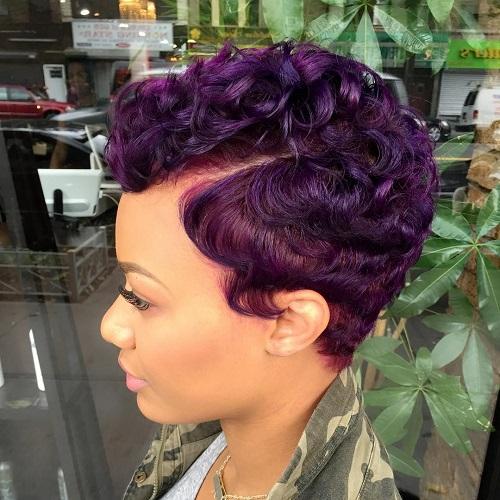 Peachy 50 Most Captivating African American Short Hairstyles And Haircuts Short Hairstyles Gunalazisus