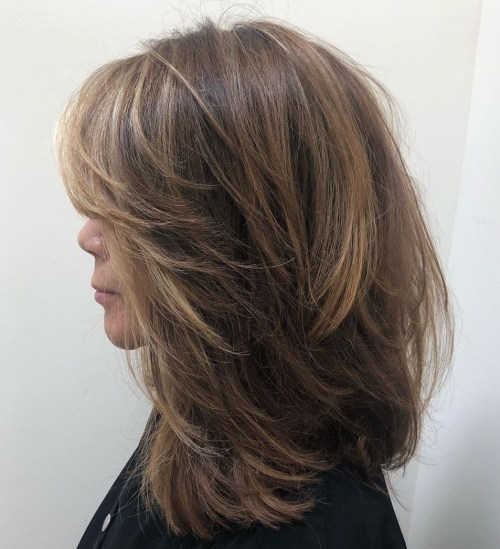 Medium-Length Shaggy Hair