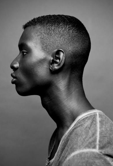 Adonis Bosso black haircut for men