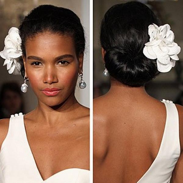 Wondrous Wedding Hairstyles Updos Black Women Hairstyles For Men Maxibearus