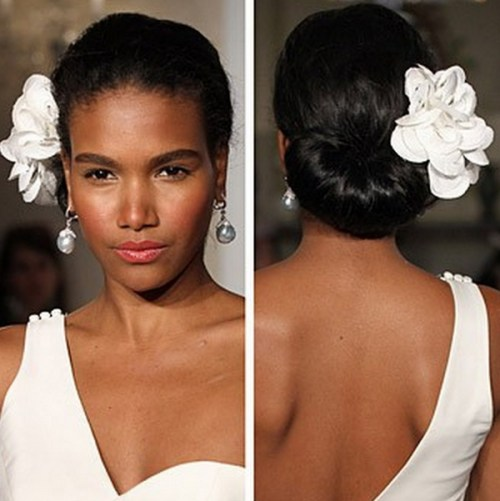 Wedding Hairstyles For Black Brides: 50 Superb Black Wedding Hairstyles