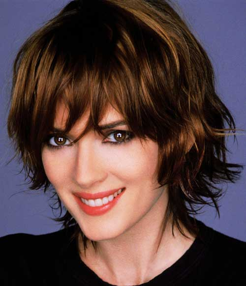 short haircuts for thick wavy hair 50 most delightful wavy hairstyles 9789 | Cute hairstyle for short wavy hair