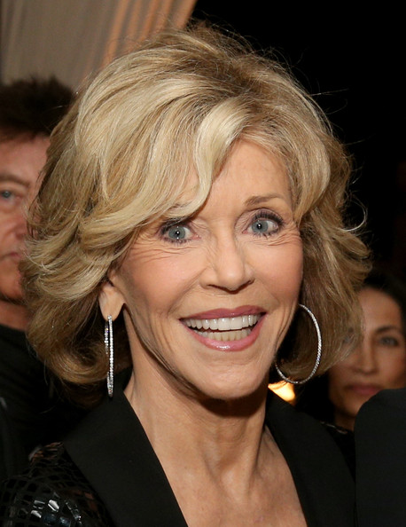 Jane Fonda signature hairstyle