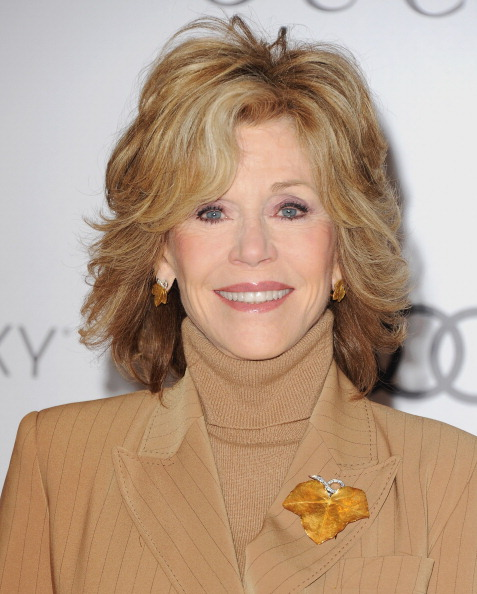 Jane Fonda medium shag