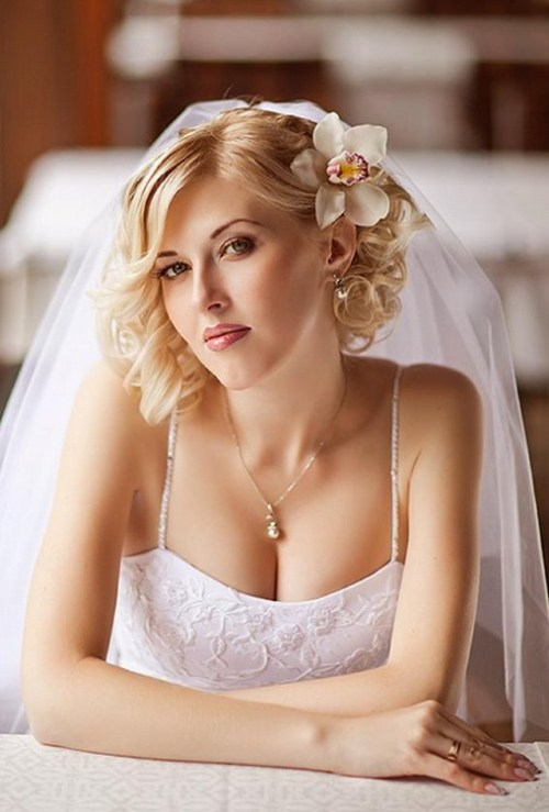 Miraculous 40 Best Short Wedding Hairstyles That Make You Say Wow Short Hairstyles Gunalazisus