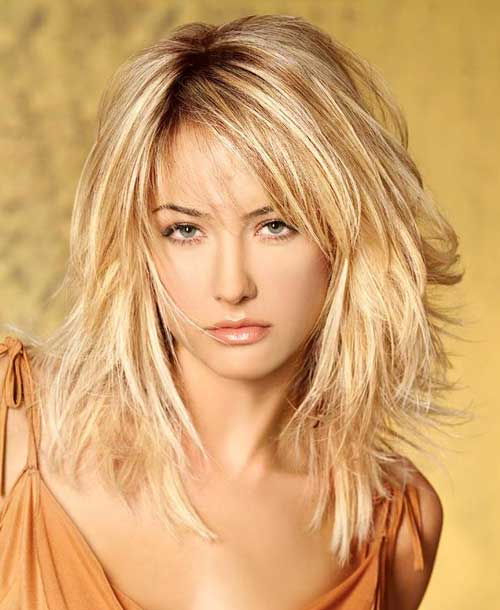 Astounding 70 Brightest Medium Length Layered Haircuts And Hairstyles Hairstyle Inspiration Daily Dogsangcom