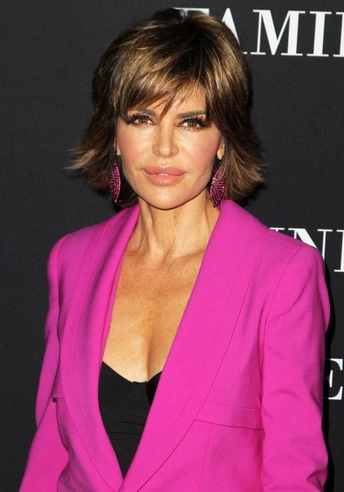 Lisa Rinna A-line hairstyle