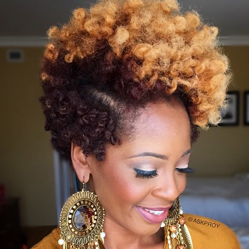Marvelous 75 Most Inspiring Natural Hairstyles For Short Hair In 2017 Hairstyles For Men Maxibearus