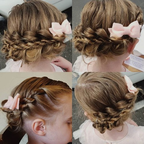 Phenomenal 40 Cool Hairstyles For Little Girls On Any Occasion Hairstyles For Women Draintrainus