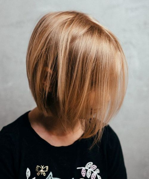 Medium Girls' Haircuts For Straight Fine Hair
