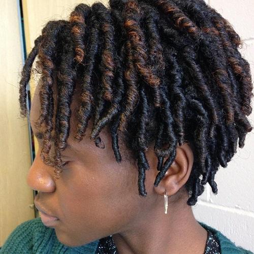 Short Tight Natural Curls