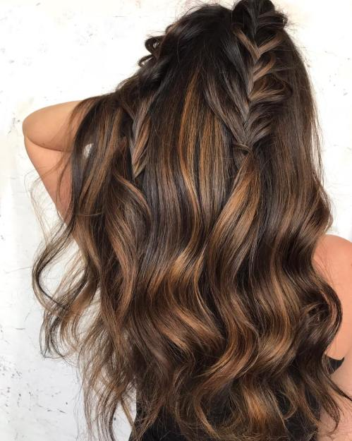 Bronze Highlights for Brown Hair