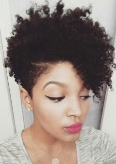 Pleasing Natural Hairstyles And Haircuts In 2016 Therighthairstyles Short Hairstyles For Black Women Fulllsitofus