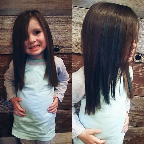 Long Haircut For Little Girls