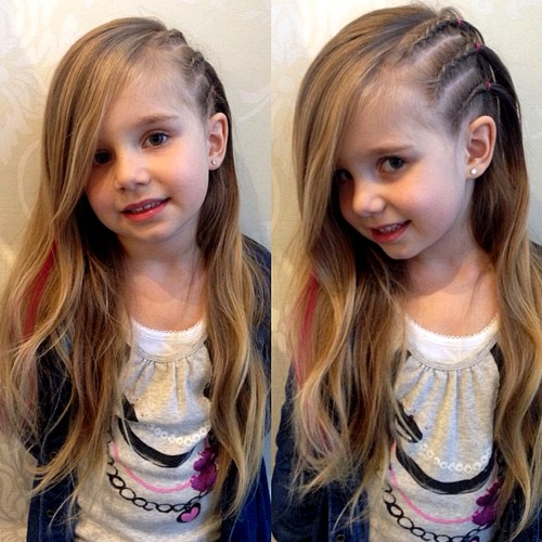 Swell 40 Cool Hairstyles For Little Girls On Any Occasion Hairstyles For Women Draintrainus