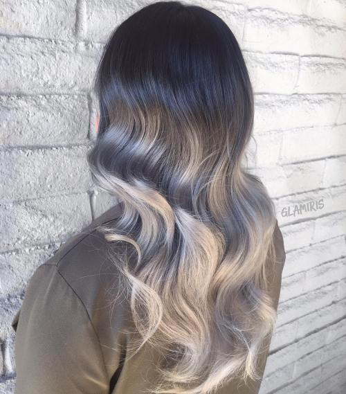 Gray Ombre For Black Hair