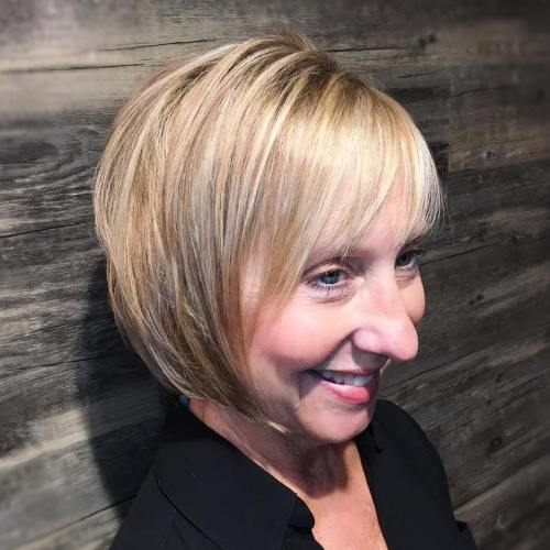 50+ Blonde Bob For Thin Hair