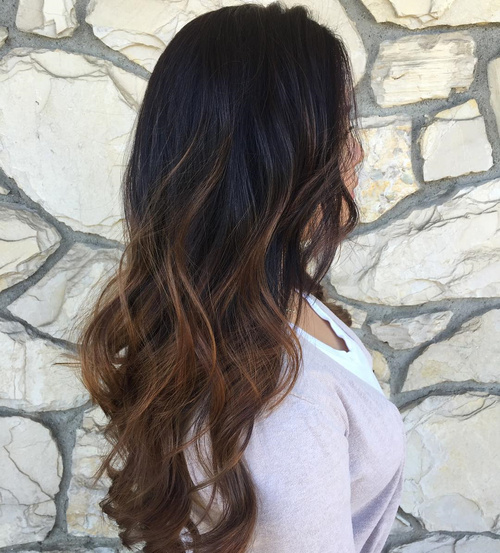 ombre styles for brown hair 60 best ombre hair color ideas for blond brown and 7108