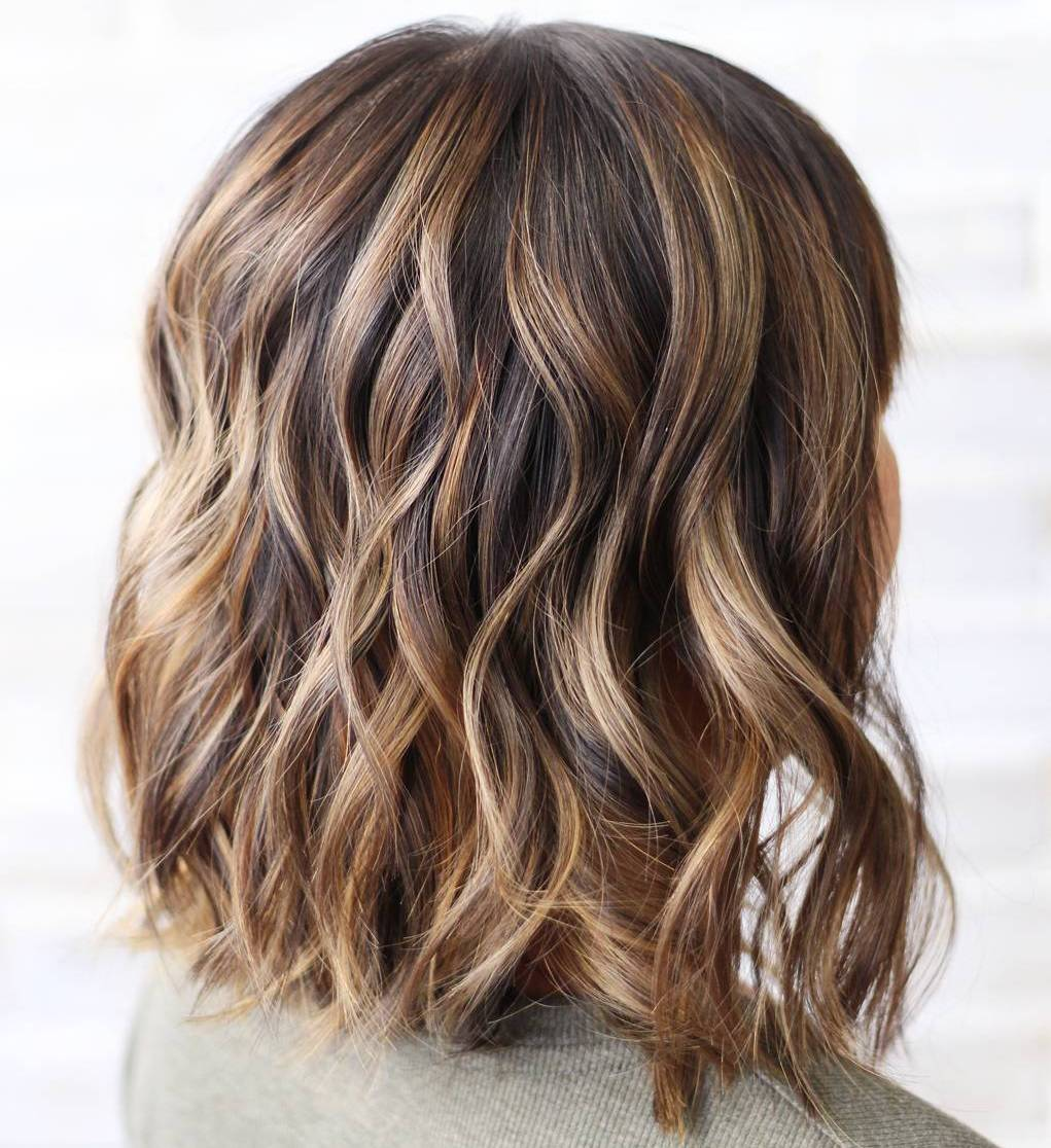 best highlight colors for light brown hair