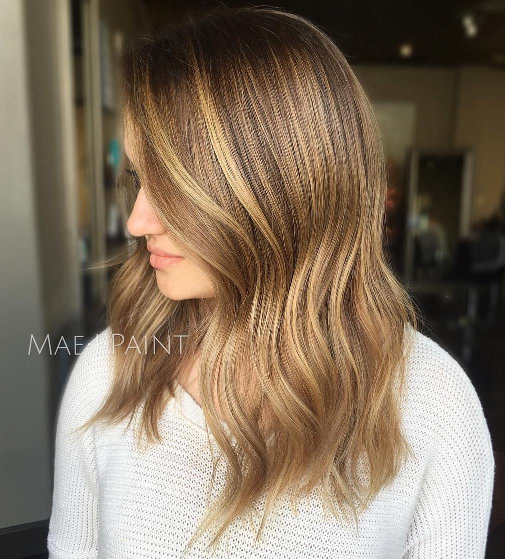 Medium Length Brown Blonde Hair
