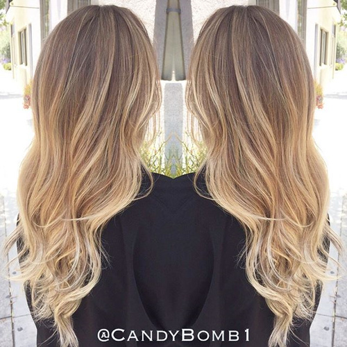 Awesome Brown Sombre Hair