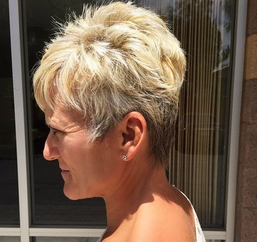 Women Hairstyles new trendy short haircuts for women 2015 new trendy short haircuts for Pixie Haircut For Women Over 50